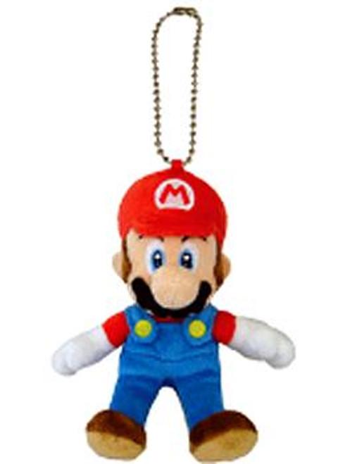 Super Mario Bros Mario 5-Inch Plush Keychain