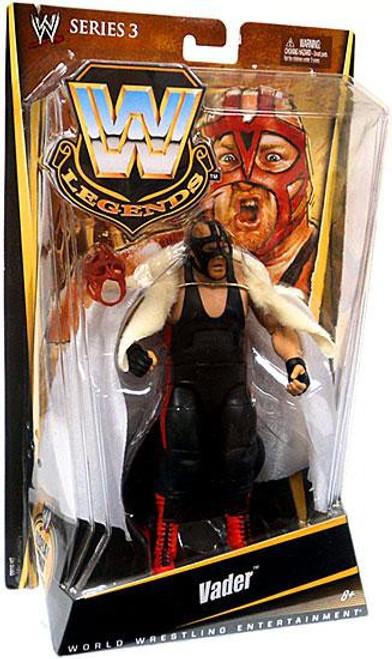 WWE Wrestling Legends Series 3 Vader Action Figure [Black Mask]
