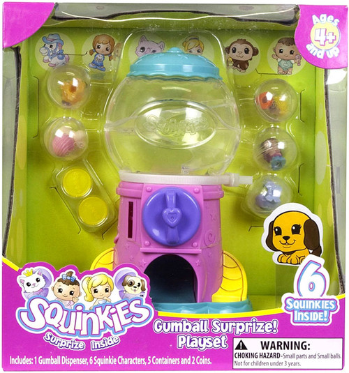 Squinkies Surprize Inside Gumball Surprize Pencil Topper Playset [Smaller Version]