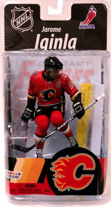 McFarlane Toys NHL Calgary Flames Sports Picks Series 27 Jarome Iginla Action Figure
