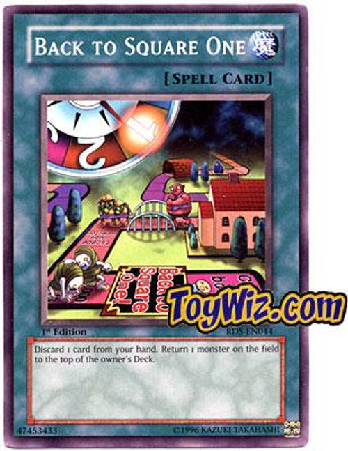 YuGiOh Rise of Destiny Common Back to Square One RDS-EN044