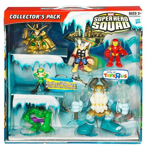 Marvel Super Hero Squad Collector's Pack Exclusive Action Figure Set [Frost Giant]