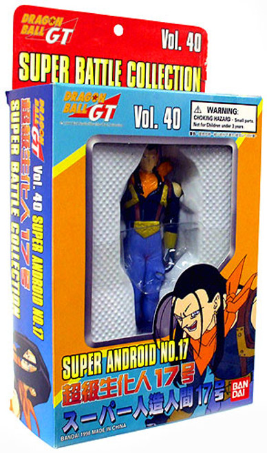 Dragon Ball GT Super Battle Collection Super Android No. 17 Action Figure #40