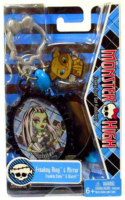 Monster High Freakey Ring & Mirror [Frankie Stein & Watzit]