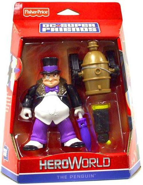 Fisher Price Batman DC Super Friends Hero World The Penguin Action Figure