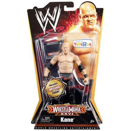 WWE Wrestling WrestleMania 26 Kane Exclusive Action Figure