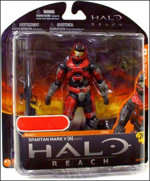 McFarlane Toys Halo Reach Series 1 Spartan Mark V [B] Exclusive Action Figure [Brick / Steel]