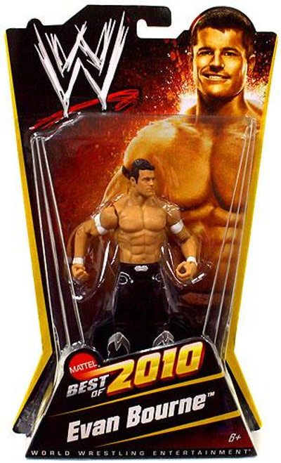 WWE Wrestling Best of 2010 Evan Bourne Exclusive Action Figure