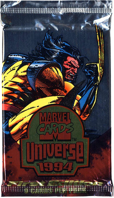 Marvel Universe 1994 Trading Card Pack