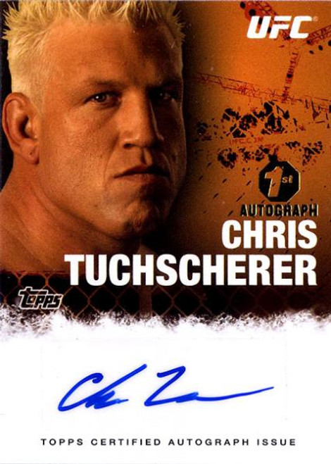 UFC 2010 Championship Chris Tuchscherer Autograph Card FA-CT