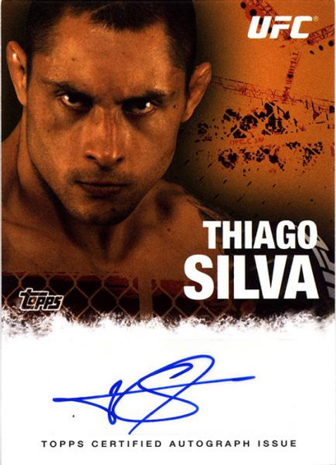 UFC 2010 Championship Thiago Silva Autograph Card FA-TS