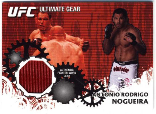 UFC 2010 Championship Ultimate Gear Relic Antonio Rodrigo Nogueira UG-AN [Red]