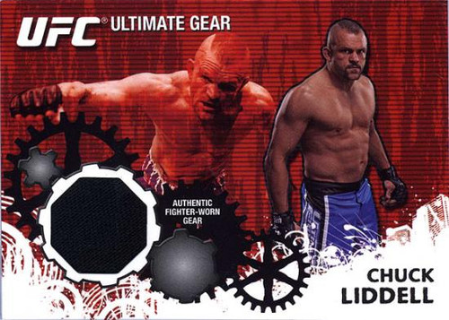 UFC 2010 Championship Ultimate Gear Relic Chuck Liddell UG-CL