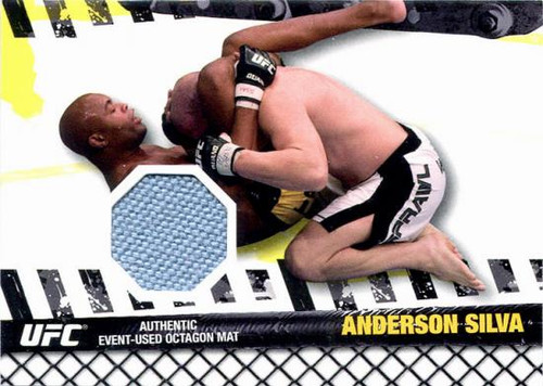 UFC 2010 Championship Fight Mat Relic Anderson Silva FM-ASI