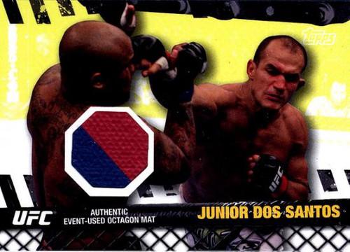 UFC 2010 Championship Fight Mat Relic Junior Dos Santos FM-JDS