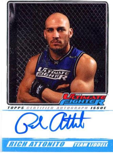 UFC 2010 Championship The Ultimate Fighter Autograph Rich Attonito TUF-RA