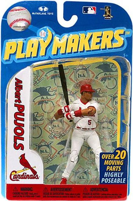 McFarlane Toys MLB St. Louis Cardinals Playmakers Series 2 Albert Pujols Action Figure [Batting]