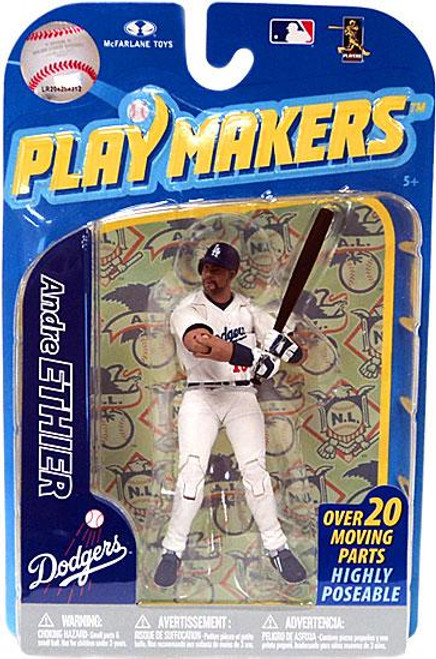 McFarlane Toys MLB Los Angeles Dodgers Playmakers Series 2 Andre Ethier Action Figure [Batting]