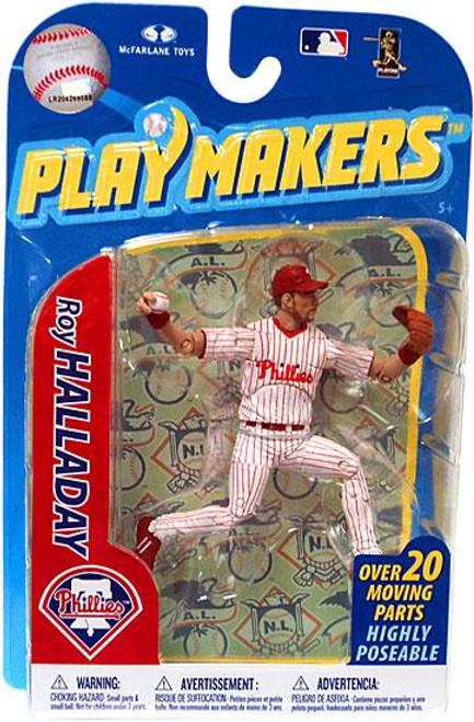 McFarlane Toys MLB Philadelphia Phillies Playmakers Series 2 Roy Halladay Action Figure