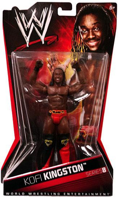 WWE Wrestling Series 8 Kofi Kingston Action Figure