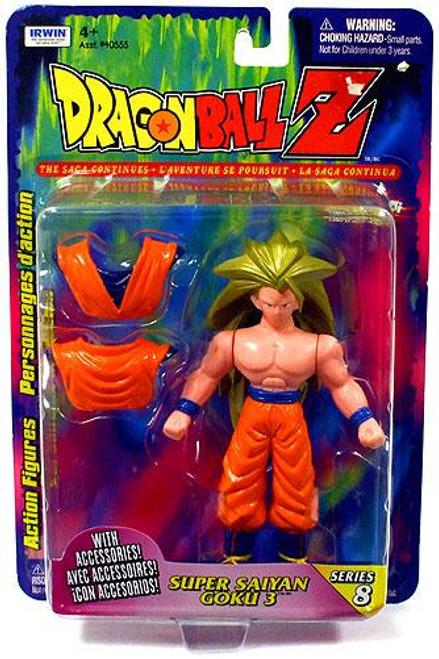 Dragon Ball Z Series 8 Goku Action Figure [Super Saiyan 3]