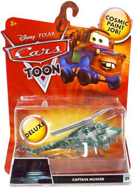 Disney Cars Cars Toon Deluxe Oversized Captain Munier Diecast Car