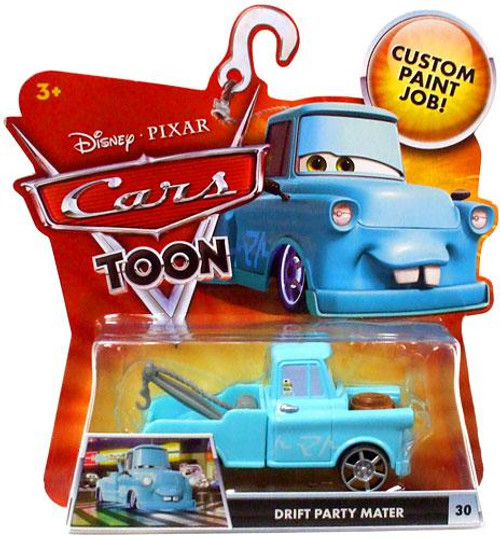 Disney Cars Cars Toon Main Series Drift Party Mater Diecast Car #30