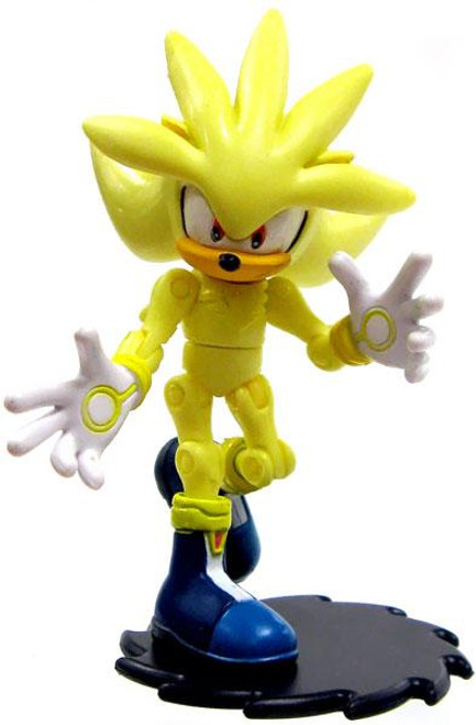 Sonic The Hedgehog Silver Action Figure [Super Loose]