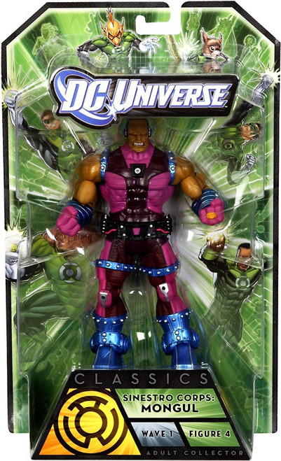 DC Universe Green Lantern Classics Series 1 Mongul Action Figure [Sinestro Corps]