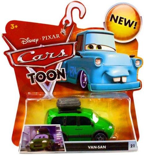 Disney Cars Cars Toon Main Series Van-San Diecast Car #21