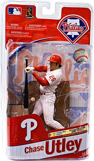 McFarlane Toys MLB Philadelphia Phillies Sports Picks Series 27 Chase Utley Action Figure [White Jersey]