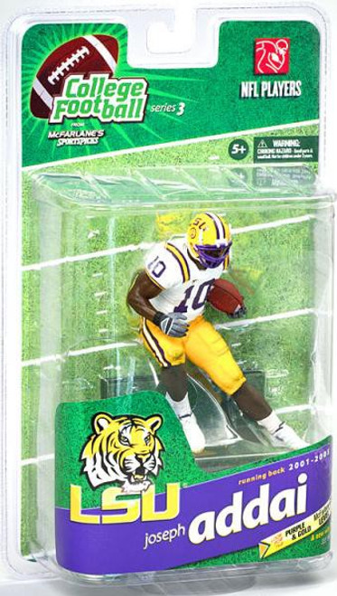 McFarlane Toys NCAA College Football Sports Picks Series 3 Joseph Addai Action Figure [White Jersey]