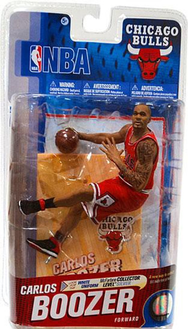 McFarlane Toys NBA Chicago Bulls Sports Picks Series 19 Carlos Boozer Action Figure [Red Jersey]