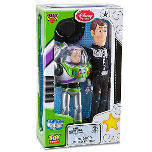 Disney Toy Story Woody & Buzz Lightyear Exclusive Action Figure 2-Pack