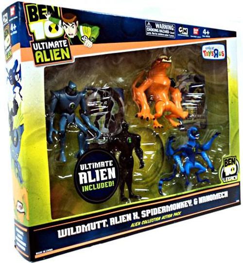 Ben 10 Ultimate Alien Alien Collection Action Pack #2 Exclusive Action Figure Set #2