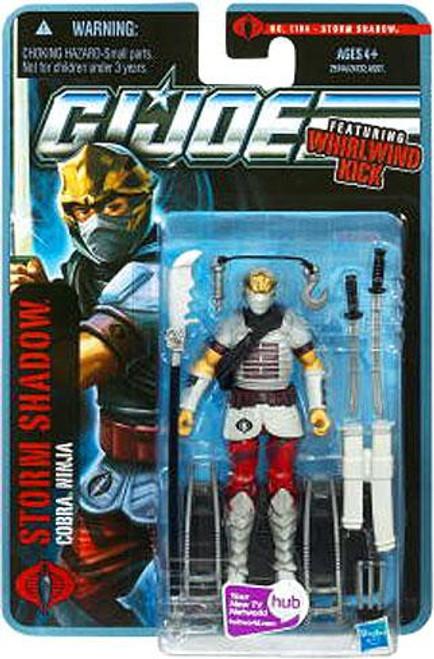 GI Joe Pursuit of Cobra Storm Shadow Action Figure [Version 6]