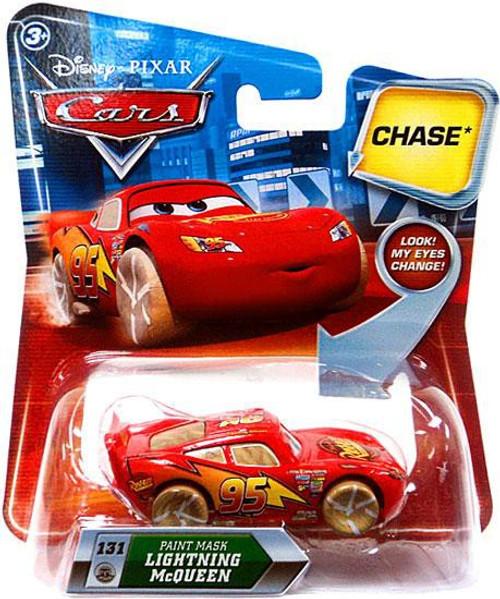 Disney Cars Lenticular Eyes Series 2 Paint Mask Lightning McQueen Diecast Car