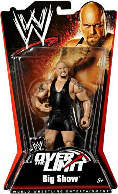 WWE Wrestling Over The Limit Series 5 Big Show Action Figure