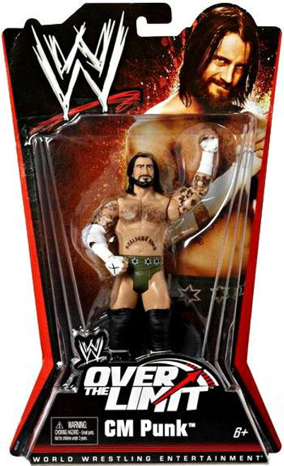 WWE Wrestling Over The Limit Series 5 CM Punk Action Figure
