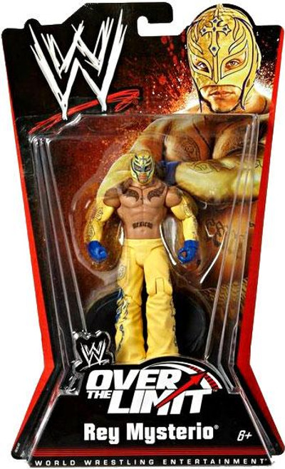 WWE Wrestling Over The Limit Series 5 Rey Mysterio Action Figure