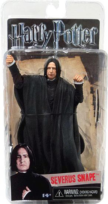 NECA Harry Potter The Deathly Hallows Series 1 Severus Snape Action Figure