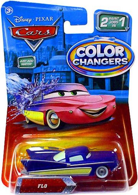 Disney Cars Color Changers Flo Diecast Car