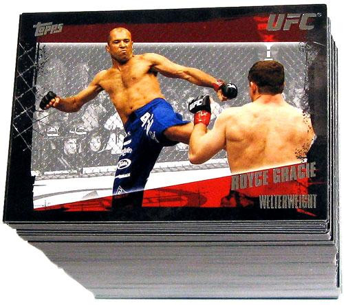 UFC 2010 Championship Complete Base Set