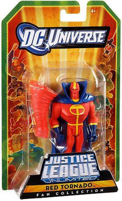 DC Universe Justice League Unlimited Fan Collection Red Tornado Action Figure