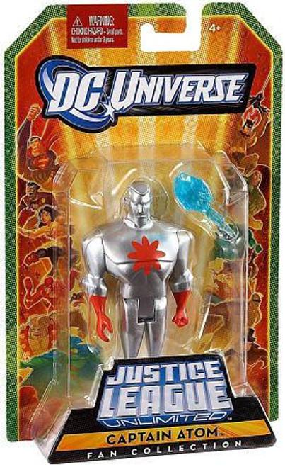 DC Universe Justice League Unlimited Fan Collection Captain Atom Action Figure