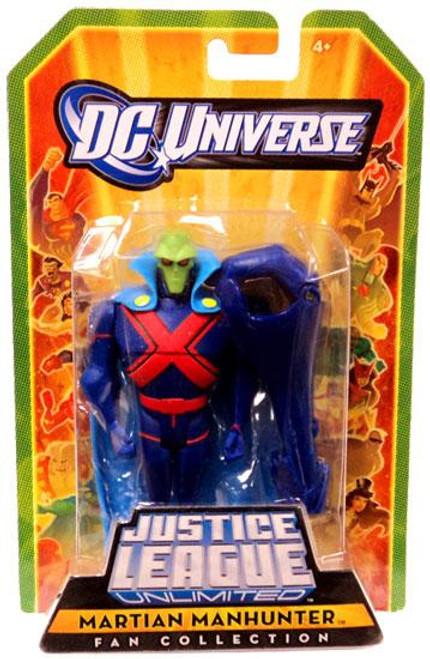 DC Universe Justice League Unlimited Fan Collection Martian Manhunter Action Figure
