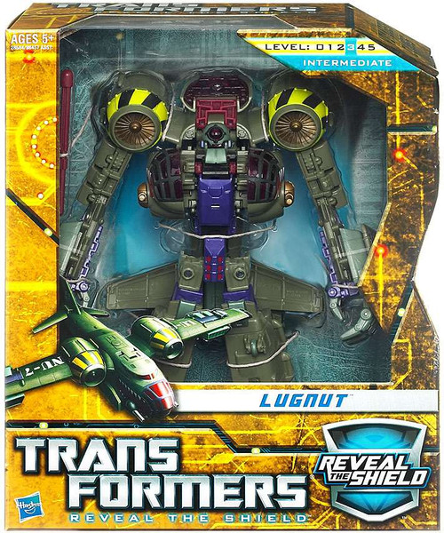 Transformers Reveal the Shield Hunt for the Decepticons Lugnut Voyager Action Figure