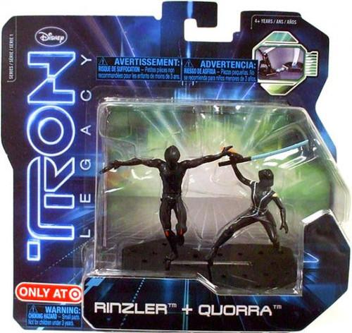 Tron Legacy Series 1 Rinzler & Quorra Exclusive Figure 2-Pack