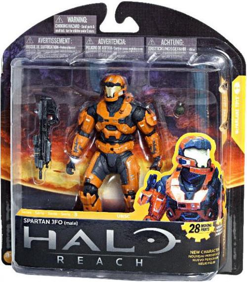 McFarlane Toys Halo Reach Series 3 Spartan JFO Exclusive Action Figure [Rust Orange]
