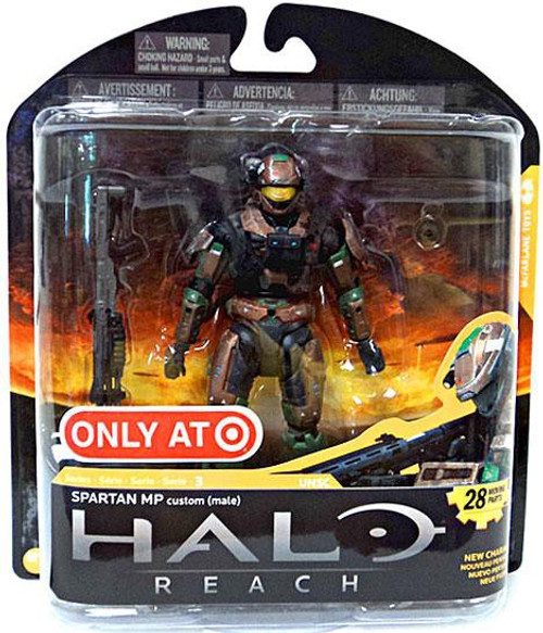 McFarlane Toys Halo Reach Series 3 Spartan MP Exclusive Action Figure [Brown/Forest]